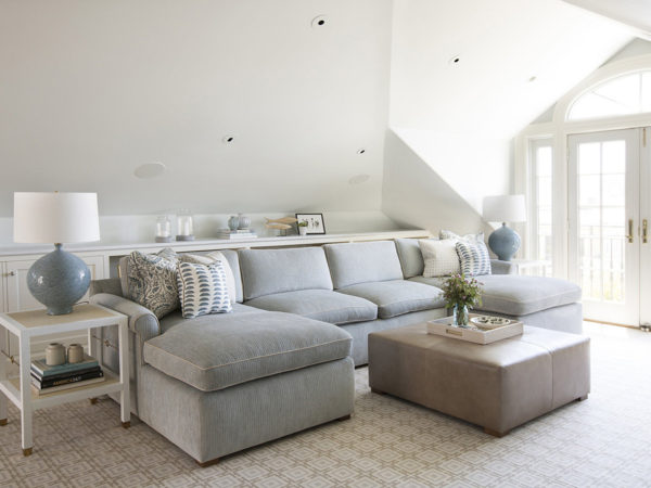 Erin King Interiors: PRESIDIO HEIGHTS TOP FLOOR REMODEL - Custom Design Top Floor Sitting Room